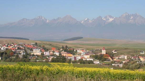Žakovce malebná obec pod Tatrami